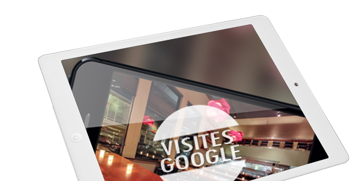 Visite virtuelle Google